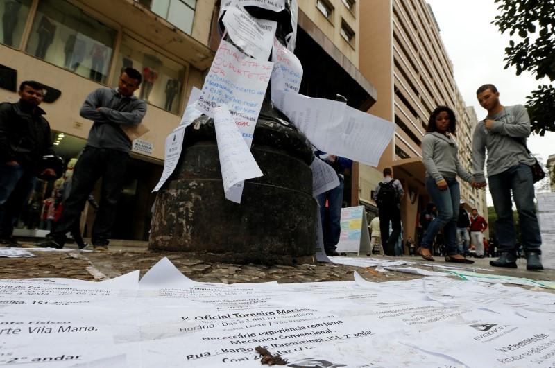 Уровень безработицы в Бразилии: 13,6% при прогнозе в 13,8%