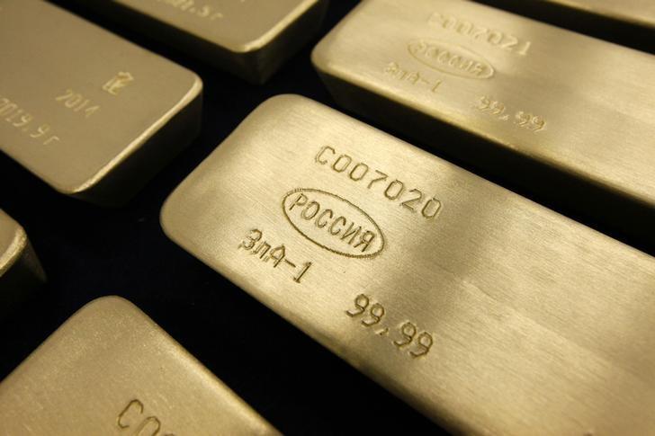 Les contrats à terme sur Or  ont reculé durant la séance américaine