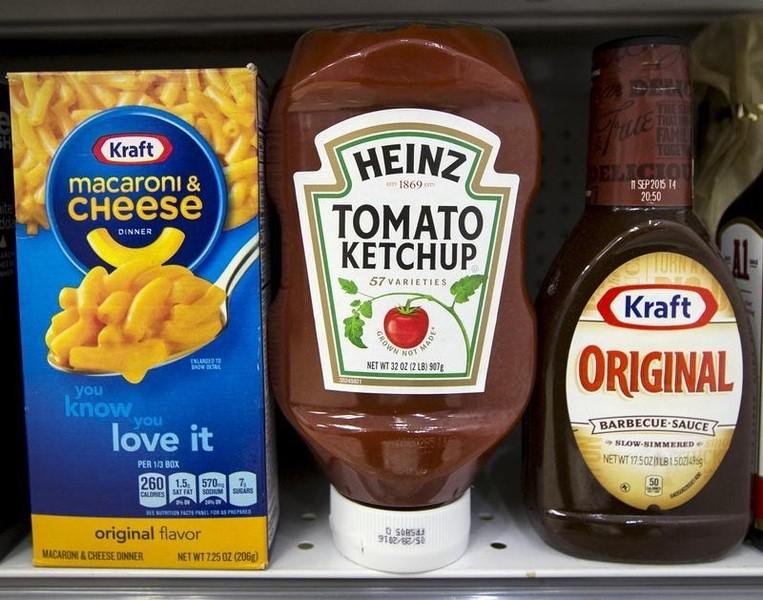 Kraft Heinz Finally Gets Some Love, Jumps Midday