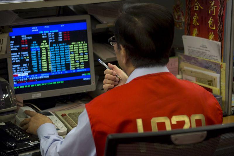 Bolsa de Hong Kong registra queda de mais de 20% desde último pico