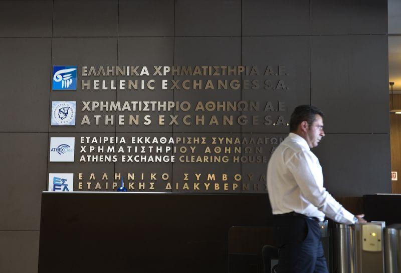 מדדי המניות ביוון ירדו בנעילת המסחר; מדד Athens General Composite השיל 0.93%