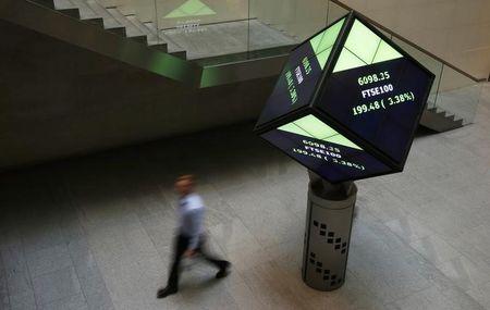 مؤشرات الأسهم في المملكة المتحدة ارتفعت عند نهاية جلسة اليوم