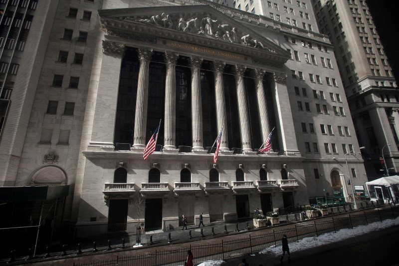 U.S. stocks higher at close of trade; Dow Jones Industrial Average up 0.67%