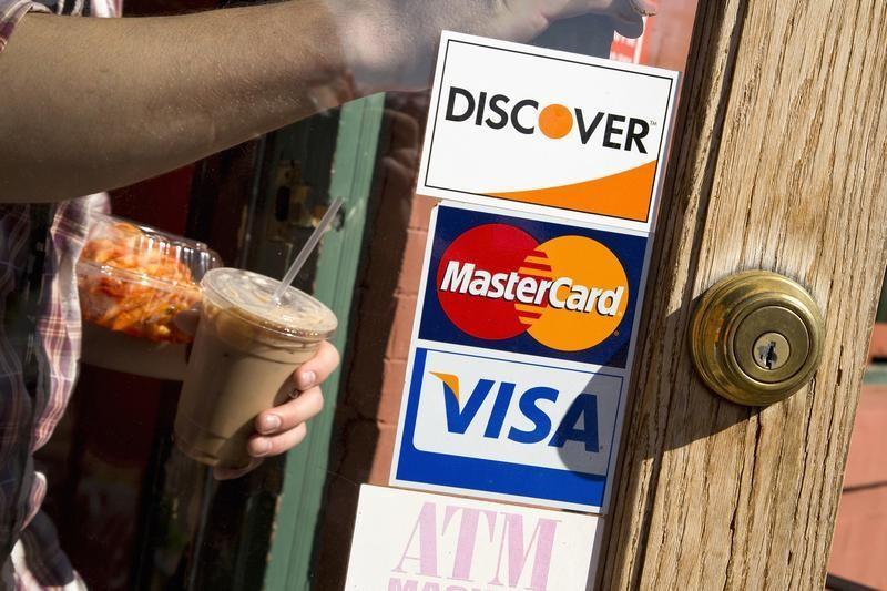 Visa A Stock Rises 4%