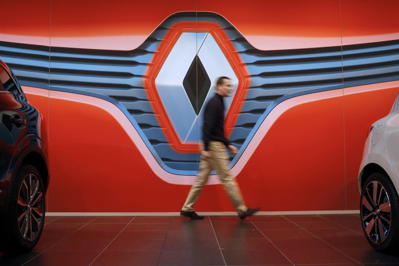 European Stocks Mixed; Renault Slumps