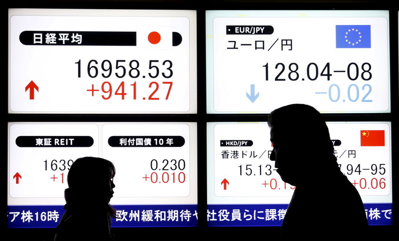 Japan shares lower at close of trade; Nikkei 225 down 0.45%