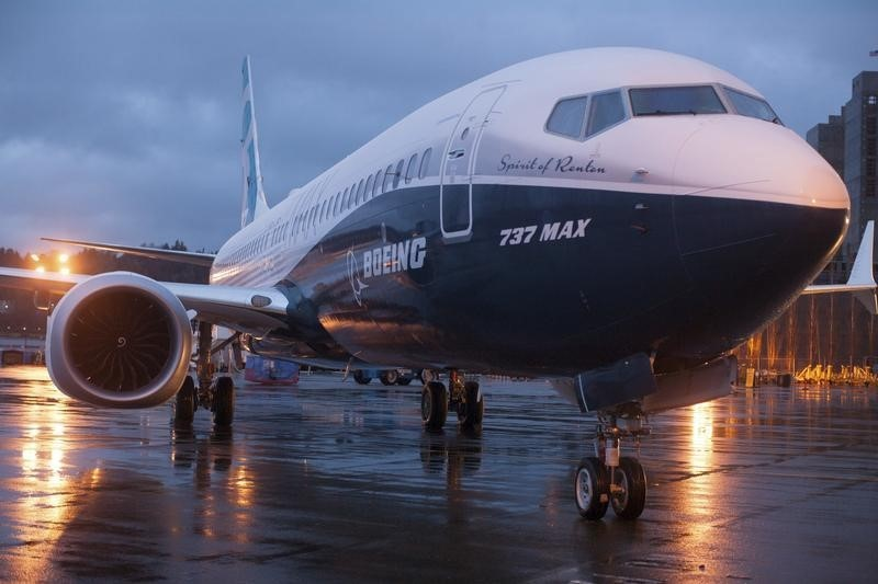 Boeing Gains On Morgan Stanley Reiterating Overweight, New Order Win