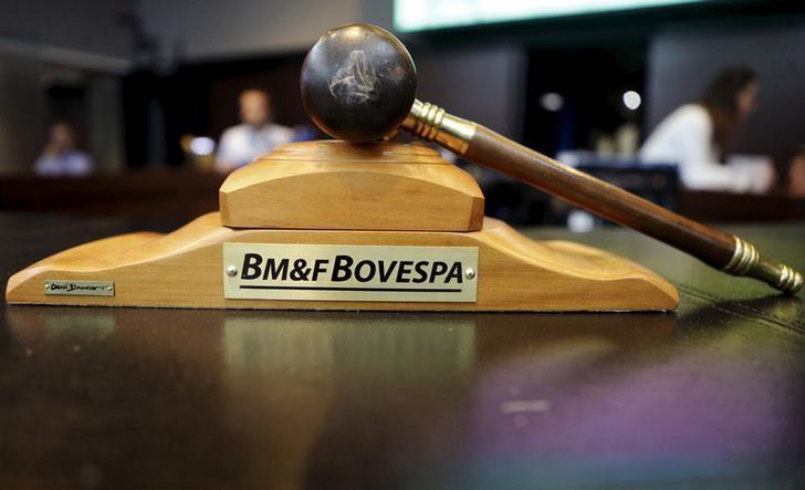 Рынок акций  Бразилии закрылся ростом, Bovespa прибавил 2,48%
