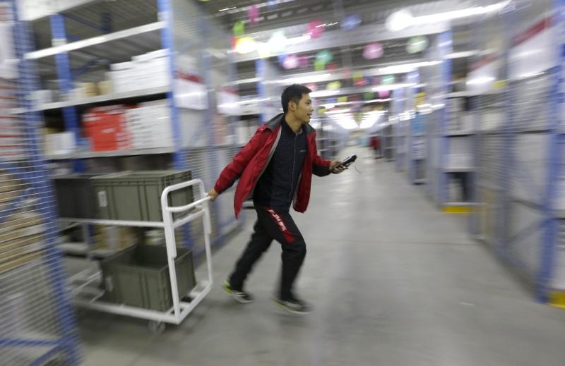 Ações chinesas se recuperam após resultados da JD.com mostrarem o valor do abatido setor de tecnologia