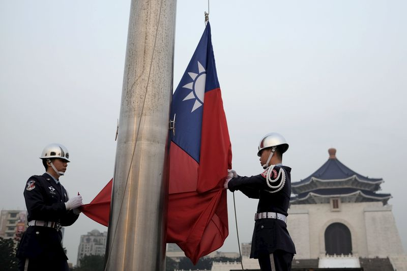 Taiwan stocks lower at close of trade; Taiwan Weighted down 0.25%