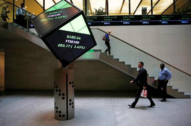 U.K. shares lower at close of trade; Investing.com United Kingdom 100 down 0.57%