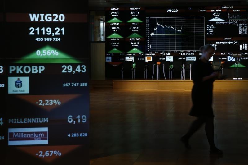 Rynek akcji Polski zamknął sesję spadkami. WIG30 stracił 0,08%
