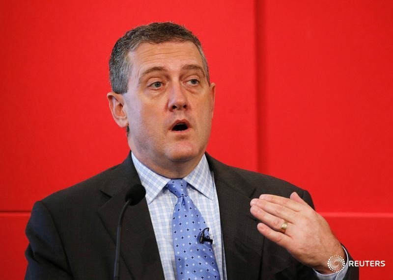 Fed's Bullard Says Time Is Right to Pull Back On Stimulus - WSJ