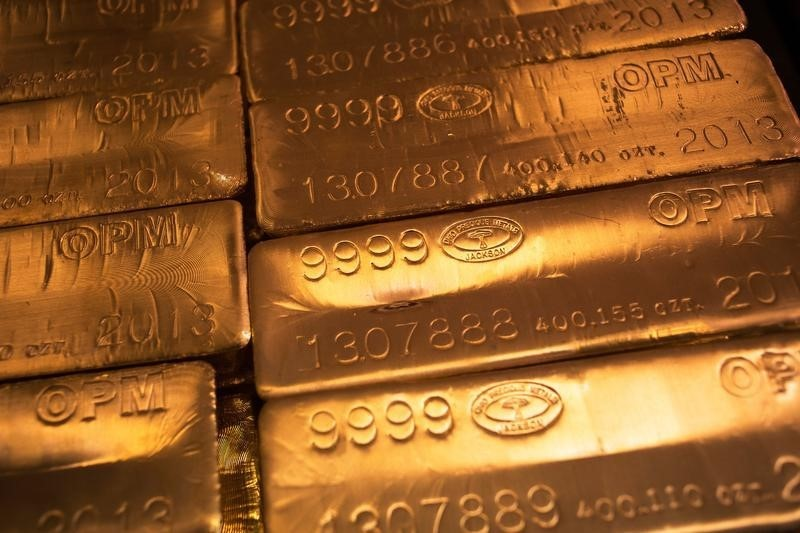 Gold Prices Fall Ahead of Central Bank Meetings
