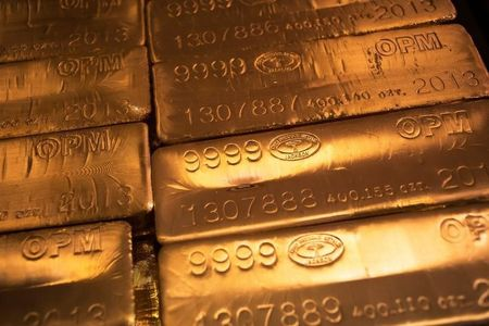 العقود الآجلة للذهب انخفضت خلال الدورة الآسيوية