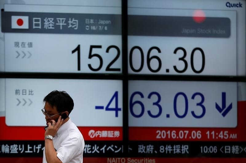 Japan stocks lower at close of trade; Nikkei 225 down 0.29%