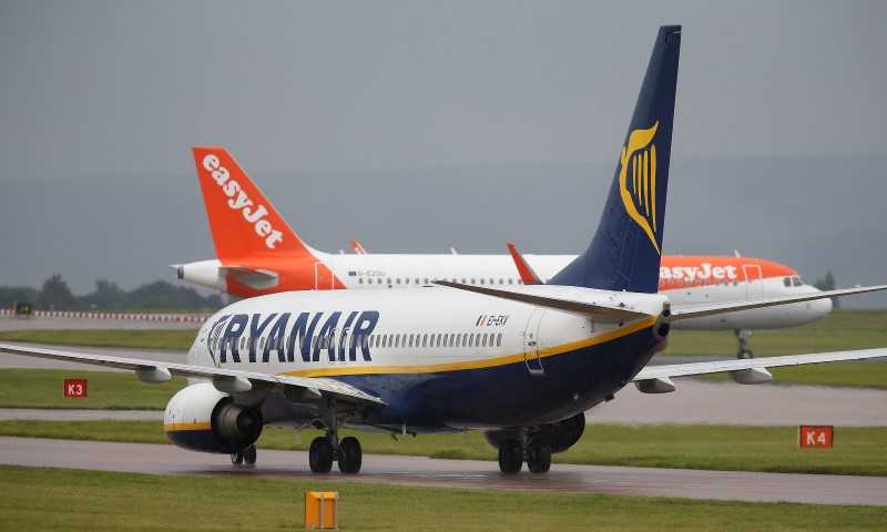 European Airlines Gain as Rules Eased For Travel to U.K.