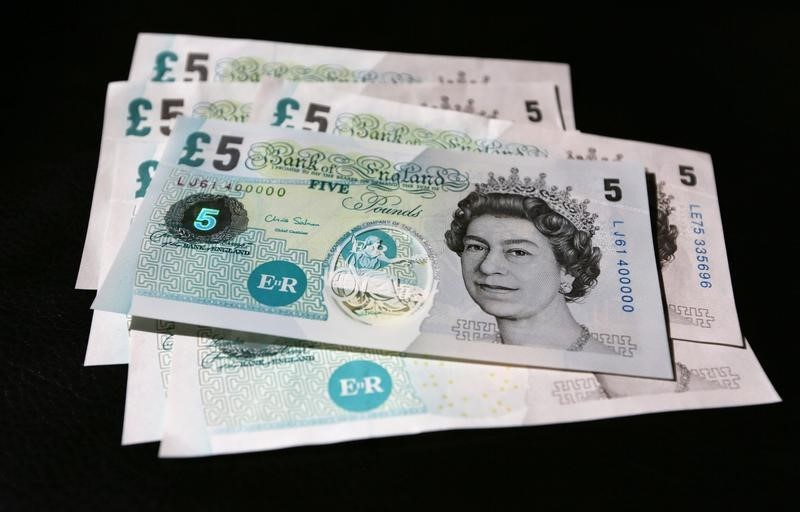 Pound Jumps to 10-Week High as 'Scoxit' Worries Fade