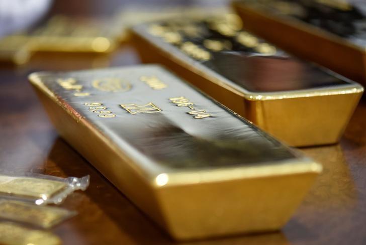 Futures Emas lebih rendah dalam dagangan Eropah