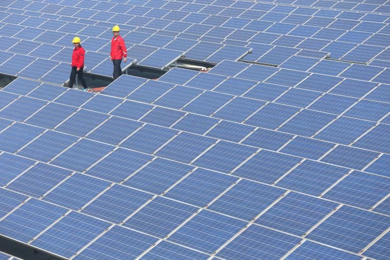 Çin'de güneşten elde edilen elektrik yüzde 23 arttı