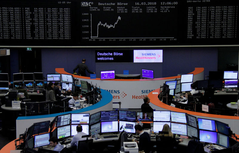 Germany stocks lower at close of trade; DAX down 0.26%