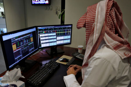 مؤشرات الأسهم في السعوديه ارتفعت عند نهاية جلسة اليوم