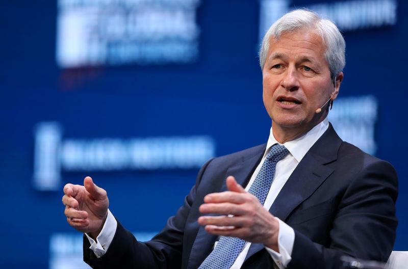 JPMorgan Gains As Board Wants Dimon At The Helm Longer