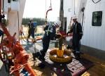 Oil Steadies After Epic Loss; Focus on U.S. Stockpiles