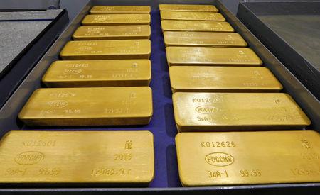 العقود الآجلة للذهب ارتفعت خلال الدورة الأوروبية