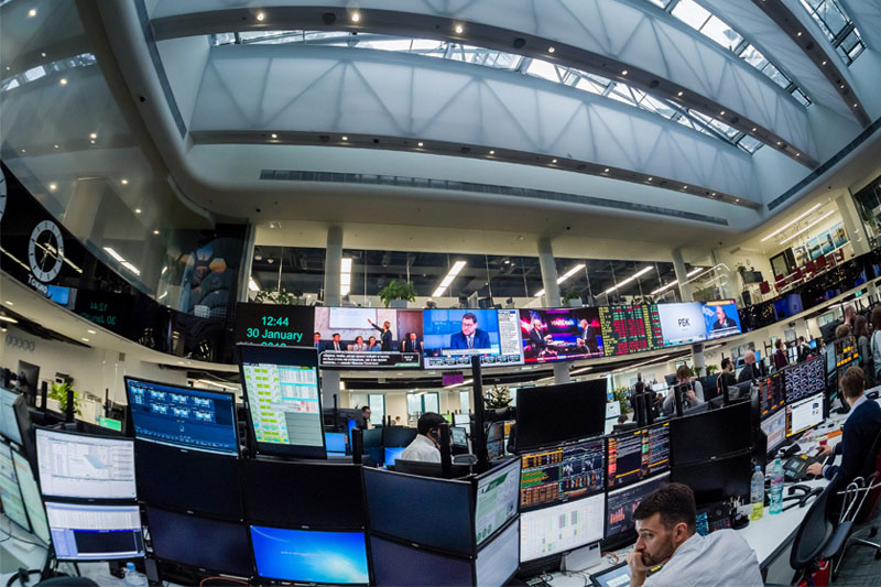 Russia stocks higher at close of trade; MOEX Russia up 0.04%