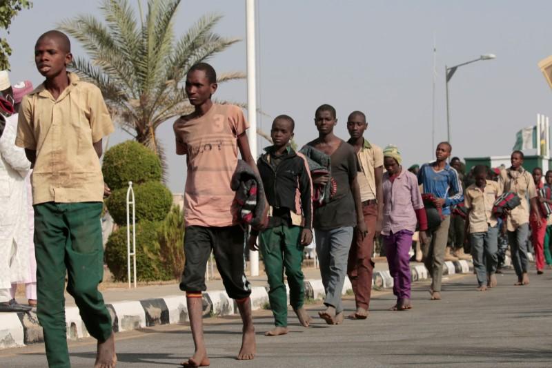 UPDATE 3-Weak and tattered, 29 students freed in Nigeria's Kaduna
