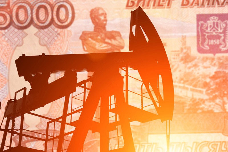 El rublo baja un 0,55 % frente al dólar y un 0,92 % frente al euro
