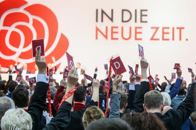 SPD beschließt nahezu einstimmig Wahlprogramm