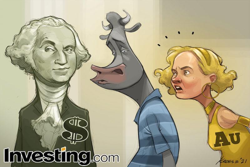 CHARGE: O dólar volta a ser o centro das atenções