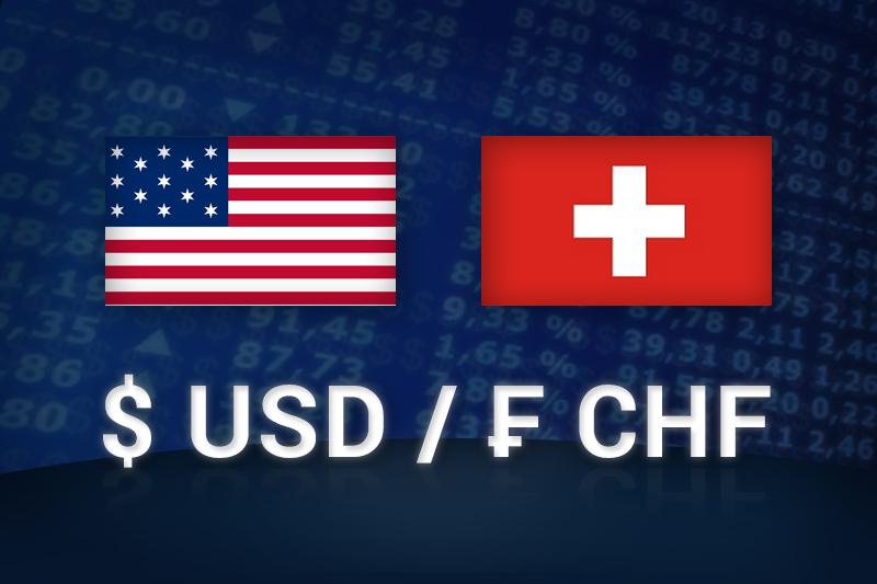 Forex - USD/CHF alhaalla Euroopan pörssipäivän aikana