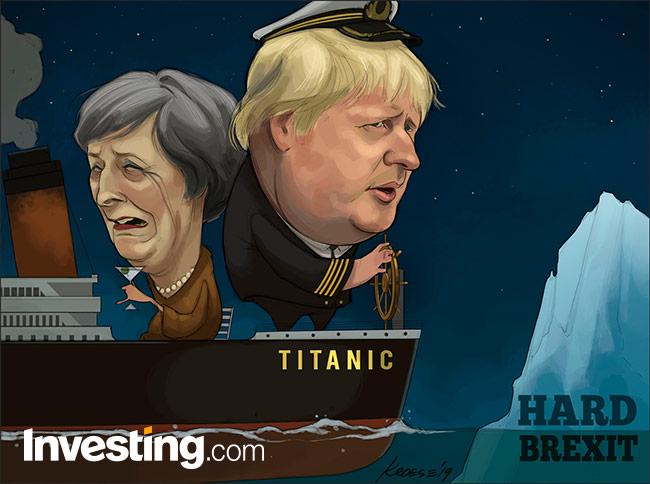 Boris Johnson met harde Brexit-taal favoriet voor PM