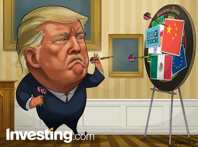 CHARGE - A vez das FAANGs: Trump mira empresas de tecnologia e derruba mercados