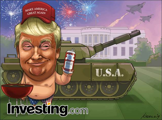 Comic: Happy Independence Day! The U.S. Celebrates 4th of July Donald Trump-Style