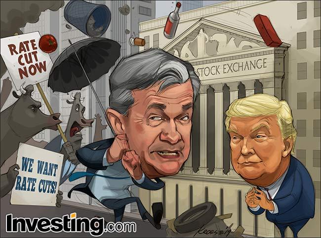 Karikatür: Piyasalar Büyük Fed İndirimi İddialarının Sönmesiyle Korku İçinde