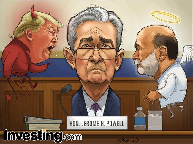 Karikatür: Powell Piyasanın Duymak İstediğini Söylüyor