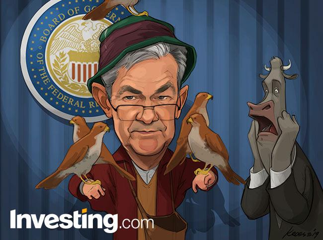 Strip: Powell stelt markten teleur: Geen verdere renteverlagingen verwacht