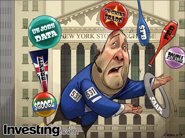 Fed, Apple Earnings & Jobs: handelaren hebben deze week veel ballen hoog te houden