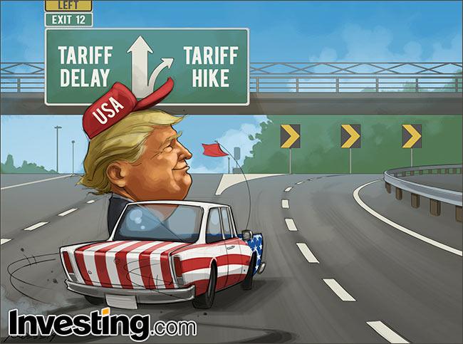 Douane deadline nadert: Alle ogen op Tariff Man Trump