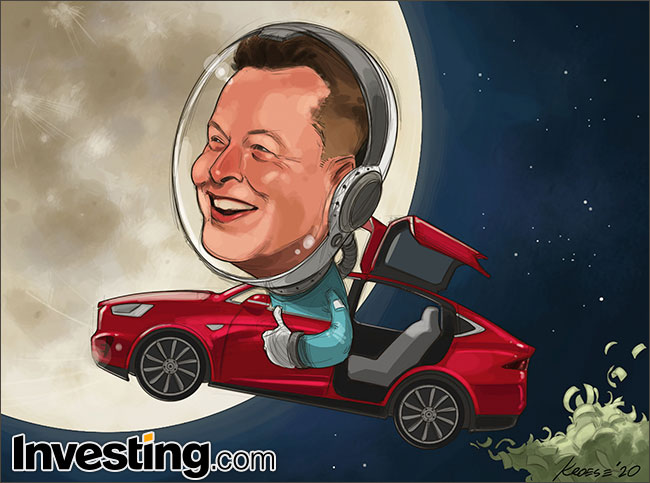 CHARGE: Rali da Tesla libera supersalário para Elon Musk