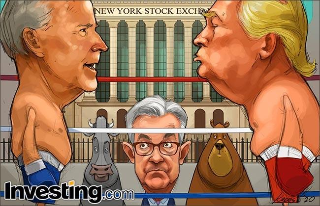 Comic: Volatility To Continue As Investors Shift Focus To Trump-Biden Debate