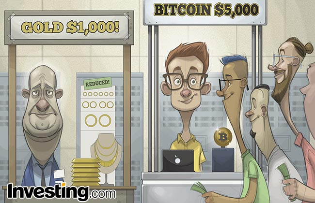 Weekly Comic: Bitcoin's monster rally to record highs leaves gold in the dust