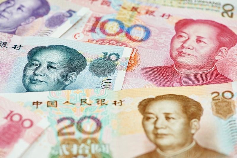 El yuan, a la baja; los mercados siguen preocupados por las previsiones económicas