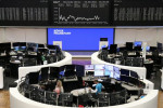 European shares rise on German election relief, oil surge