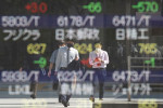 Stagflation fears stalk shares, rising yields lift dollar