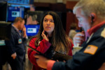 Futures climb ahead of big bank earnings, producer prices data